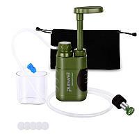 Походный фильтр для воды портативный туристический Purewell 5000L 5000 литров 100124, КОД: 1713990