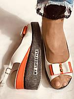 Модні босоніжки на невисокій платформі.Натуральна шкіра. Розмір 36. 37.38,39.Туреччина. Магазин Vellena, фото 9