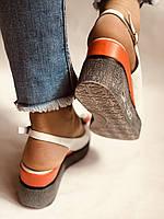 Модні босоніжки на невисокій платформі.Натуральна шкіра. Розмір 36. 37.38,39.Туреччина. Магазин Vellena, фото 8