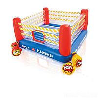 Надувной батут Intex 48250 «Боксерский ринг», 226 х 226 х 110 см