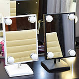 Зеркало с LED подсветкой для макияжа Cosmetie MIRROR Mode Arivans 27 x 16.5 см, фото 4