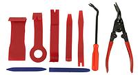 Профессиональный набор инструмент для снятия обшивки (облицовки) авто 9 шт. (СО-9)