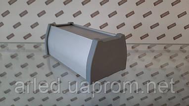 Заглушка на алюминиевый LED профиль ODWW. Серая, фото 2