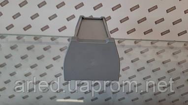Заглушка на алюминиевый LED профиль ODWW. Серая, фото 3