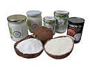 Продукция, изготовленная из кокосового ореха