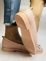Стильные! Женские туфли -балетки из натуральной кожи 37-40 Супер комфорт.Vellena, фото 3