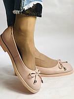Стильные! Женские туфли -балетки из натуральной кожи 37-40 Супер комфорт.Vellena, фото 2