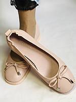 Стильные! Женские туфли -балетки из натуральной кожи 37-40 Супер комфорт.Vellena, фото 9