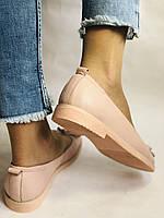 Стильные! Женские туфли -балетки из натуральной кожи 37-40 Супер комфорт.Vellena, фото 8