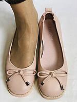 Стильные! Женские туфли -балетки из натуральной кожи 37-40 Супер комфорт.Vellena, фото 7