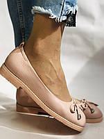 Стильные! Женские туфли -балетки из натуральной кожи 37-40 Супер комфорт.Vellena, фото 10