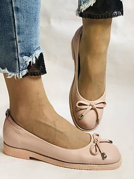 Стильные! Женские туфли -балетки из натуральной кожи 37-40 Супер комфорт.Vellena