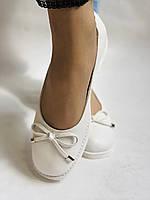 Стильные! Женские туфли -балетки из натуральной кожи 35 36.37.38.39.40. Супер комфорт.Vellena, фото 4