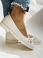 Стильные! Женские туфли -балетки из натуральной кожи 35 36.37.38.39.40. Супер комфорт.Vellena, фото 2