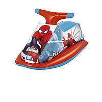 Детский надувной плотик для катания Bestway 98012 «Человек-паук», 89 х 46 см
