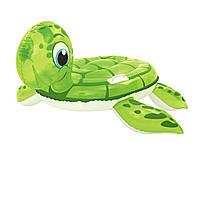 Детский надувной плотик для катания Bestway 41041 «Черепашка», 140 х 140 см