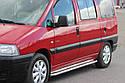 Пороги боковые (подножки-площадка) Peugeot Expert 1995-2007 короткая база (Ø42), фото 3