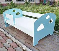 Детская кровать, дитяче ліжко, кровать для подростка, кровать в детскую, кровать с облаками