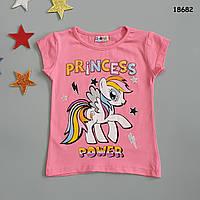 Футболка Pony для девочки. 86-92 см, фото 1