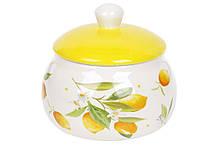Медовница керамическая 500мл Сочные лимоны BonaDi DM282-Y