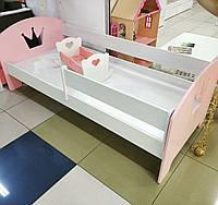 Детская кровать, дитяче ліжко, кровать для подростка, кровать в детскую, кровать с короной