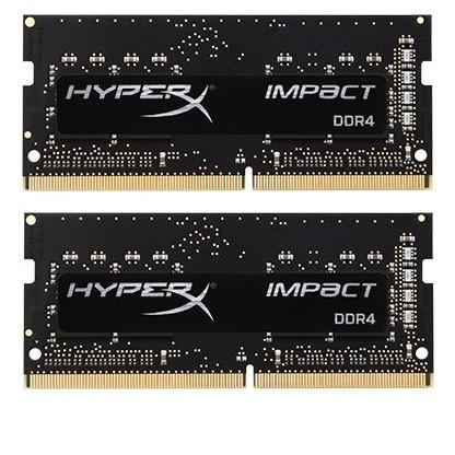 Модуль памяти SO-DIMM 2х32GB/2666 DDR4 Kingston HyperX Impact (HX426S16IBK2/64)