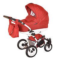 Коляска детская 2 в 1 универсальная Donatan Viano красная (ОРИГИНАЛ, красный)