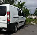Пороги боковые (подножки-трубы) Peugeot Expert 2007+ длинная база (Ø60), фото 3