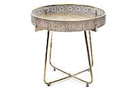 Складной металлический столик 51.5см BonaDi 589-114