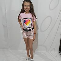 Летний модный костюм для девочки