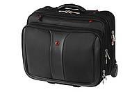"""Кейс-пилот для ноутбука 16"""", Wenger Patriot 2 Pc Wheeled Laptop Case, чёрный"""
