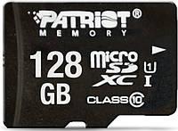 Карта памяти Patriot 128GB microSDXC C10 UHS-I LX + SD