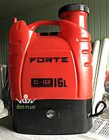 Обприскувач акумуляторний Forte 16l 8Ah, фото 1