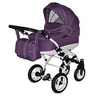 Коляска детская 2 в 1 универсальная Donatan Viano фиолетовая (ОРИГИНАЛ, фиолетовый)