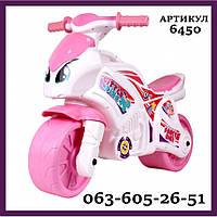 Беговел Беговелы Технок 6450 Мотоцикл Детский Байк Самокат  Толокар  Каталка велобег