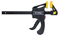 Струбцина TOPEX автоматическая, 150 х 60 мм