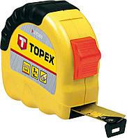 Рулетка TOPEX, стальная лента 3 м x 16 мм