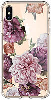 Чехол Spigen для iPhone XS Max CYRILL Cecile, Rose Floral