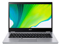 Ноутбук Acer Spin 3 SP314-54N 14FHD IPS Touch/Intel i3-1005G1/8/256F/int/W10/Silver