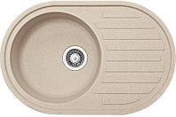 Кухонні мийки Franke RONDA ROG 611 Фраграніт/770х500х195/Словаччина/Бежевий