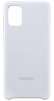 Чехол Samsung Silicone Cover для смартфона Galaxy A71 (A715F) Silver