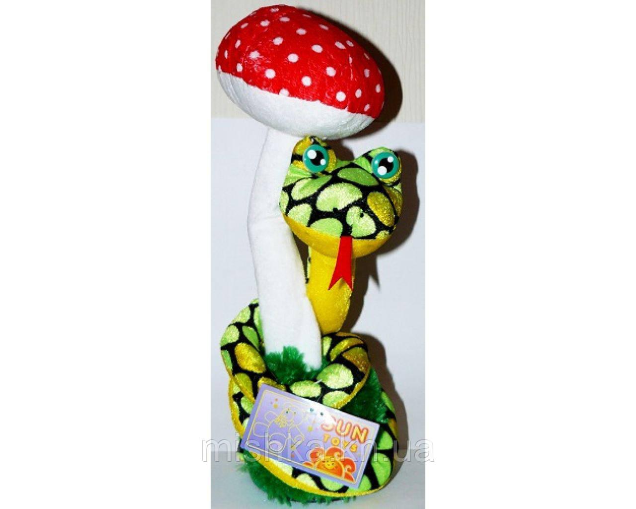 Механічна іграшка Змія з мухомором