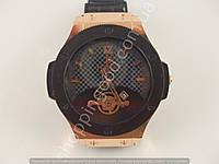 Часы Hublot Geneve Big Bang King 013452 мужские черные с бронзой черный циферблат