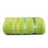 Полотенце Home Line PRETTY DOTS 50X90 зеленое (105633)