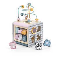Игровой центр Viga Toys PolarB Кубик 5-в-1 (44030)