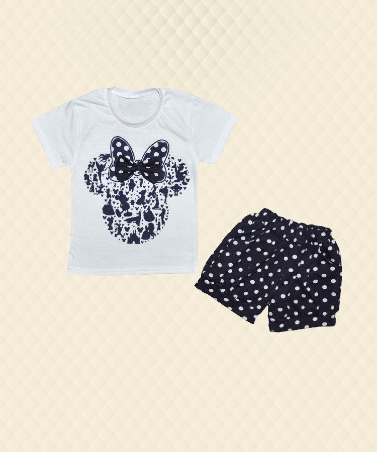 Комплект Микки футболка + шорты кулир