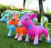 Надувные Пони Для Детей Надувные Игрушки Надувная Пони Размер 30 х 37 См В Упаковке 12 Шт, фото 2