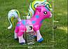 Надувные Пони Для Детей Надувные Игрушки Надувная Пони Размер 30 х 37 См В Упаковке 12 Шт, фото 3