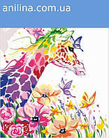"Картина по номерам. Rosa ""Жирафа мечтательница"" 35х45см N0001342, фото 1"