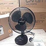 Настольный вентилятора Netagon 12(черный), фото 2